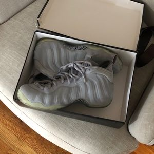 Air foamposite cool grey